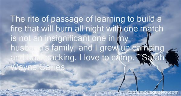 Quotes About Backpacking