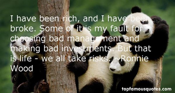 Quotes About Bad Investments
