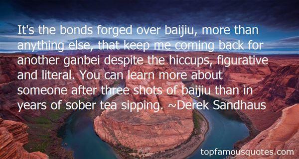 Quotes About Baijiu