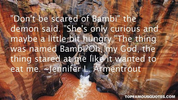 Quotes About Bambi