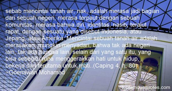 Quotes About Bangsa