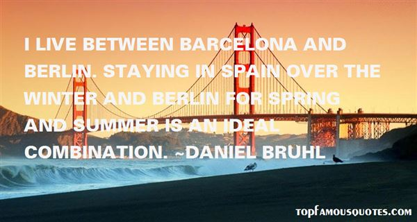 Quotes About Barcelona Spain