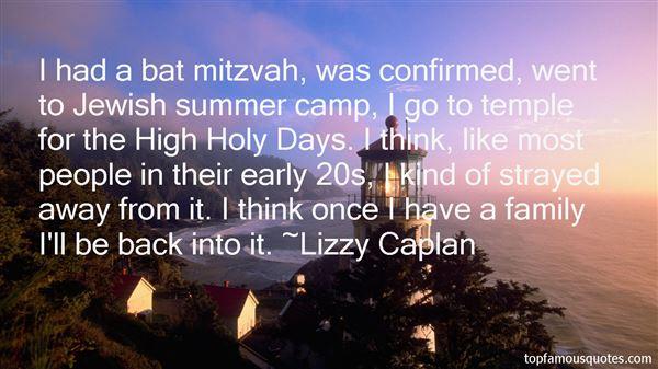 Quotes About Bat Mitzvah