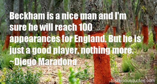 Quotes About Beckham