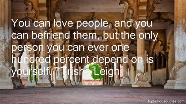 Quotes About Befriend