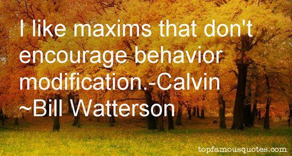 Quotes About Behavior Modification