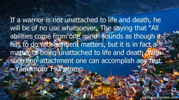 Quotes About Being Unattached