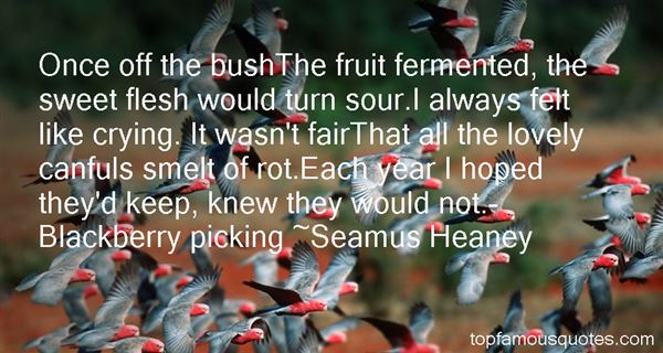 Quotes About Berry Picking