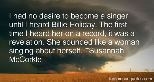 Quotes About Billie Holiday
