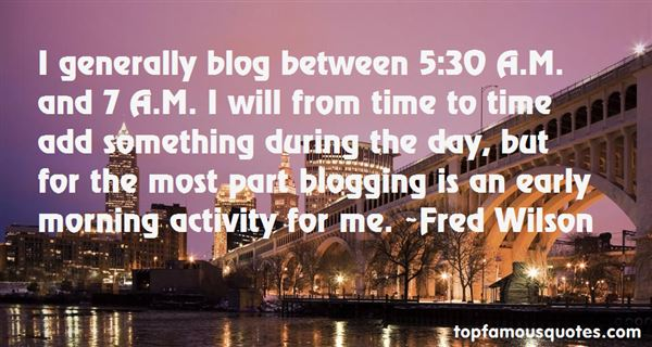 Quotes About Blog