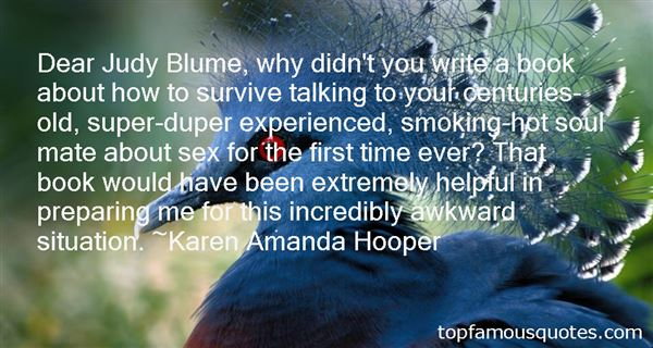 Quotes About Blume