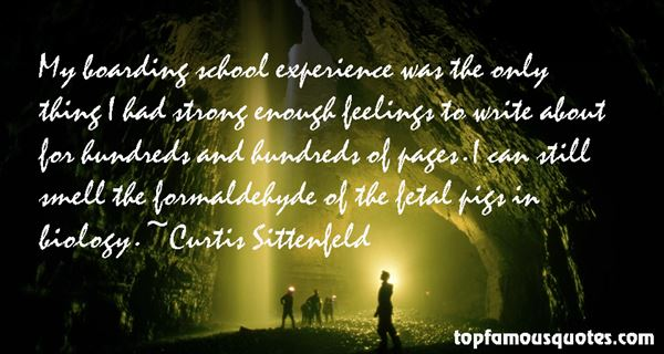 Quotes About Boarding School