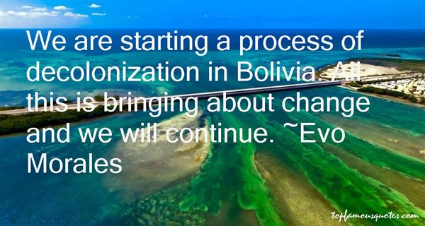 Quotes About Bolivia
