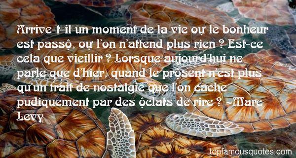 Quotes About Bonheur