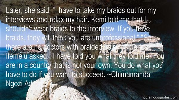 Quotes About Braided Hair