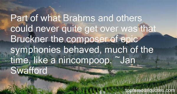 Quotes About Bruckner