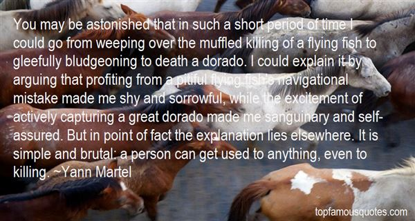 Quotes About Brutal Killing