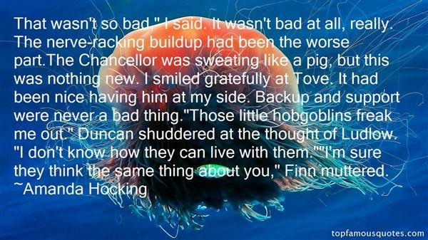 Quotes About Buildup