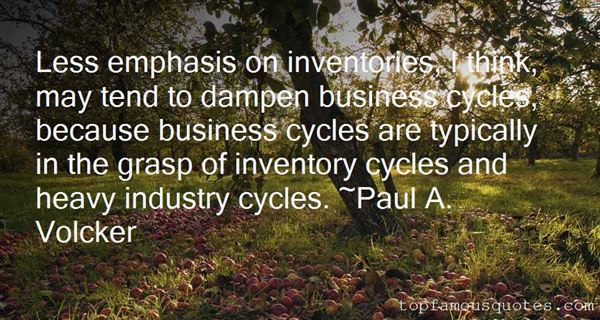 Quotes About Business Cycles