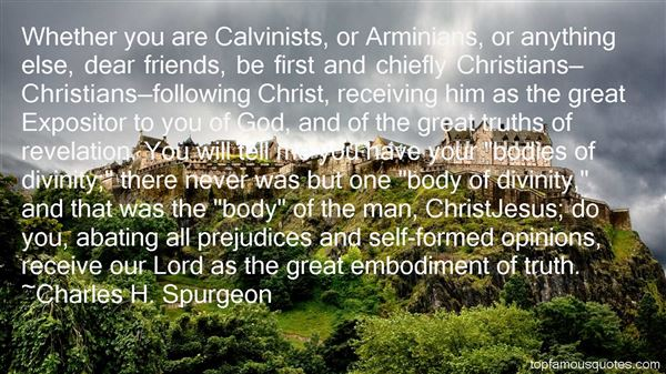 Quotes About Calvinist