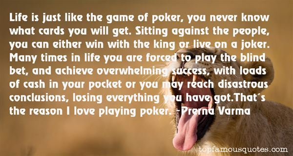 Quotes About Cards And Love