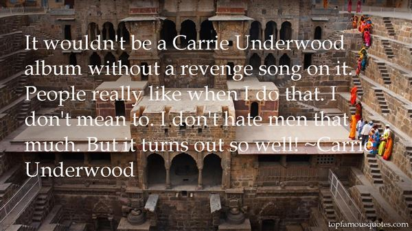 Quotes About Carrie Underwood