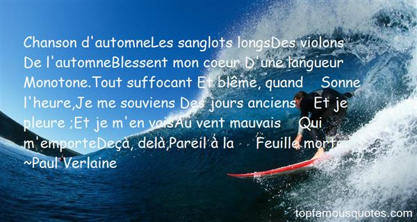 Quotes About Chanson