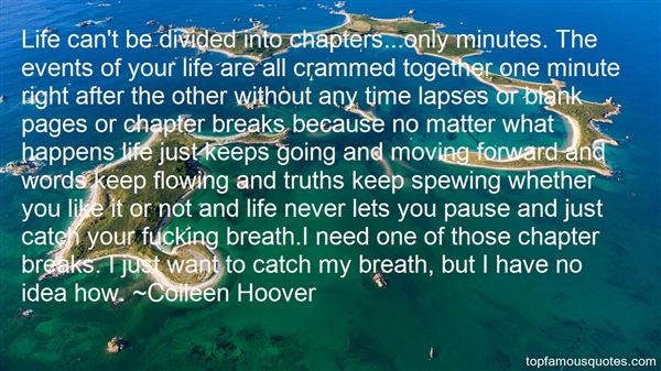 Quotes About Chapters Of Life