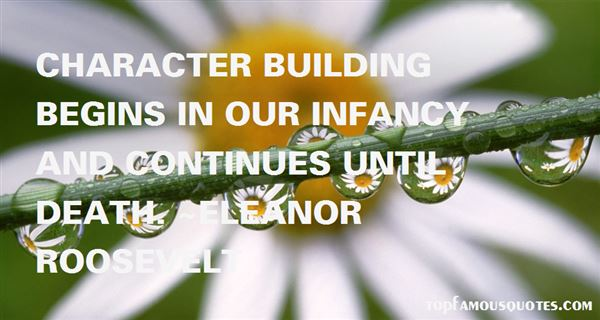 Quotes About Character Building
