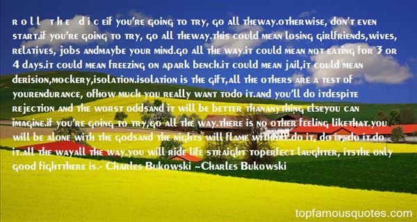Quotes About Charles Bukowski