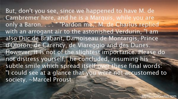 Quotes About Charlus