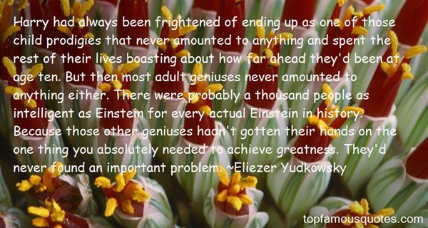 Quotes About Child Prodigies