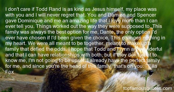 Quotes About Chosen Family