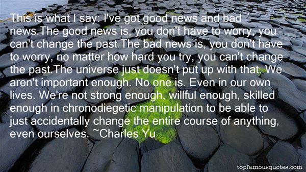 Quotes About Chronodiegetic
