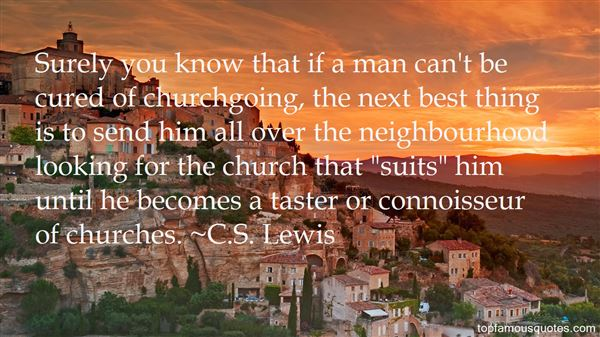 Quotes About Churchgoing