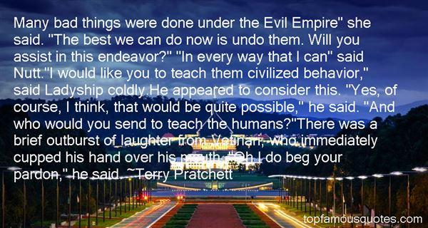 Quotes About Civilized Behavior