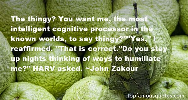Quotes About Cognitive Thinking