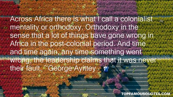 Quotes About Colonial Mentality