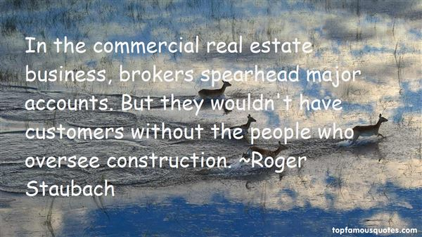 Quotes About Commercial Real Estate