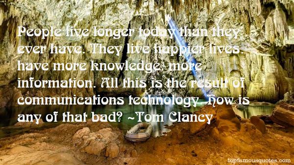 Quotes About Communications Technology