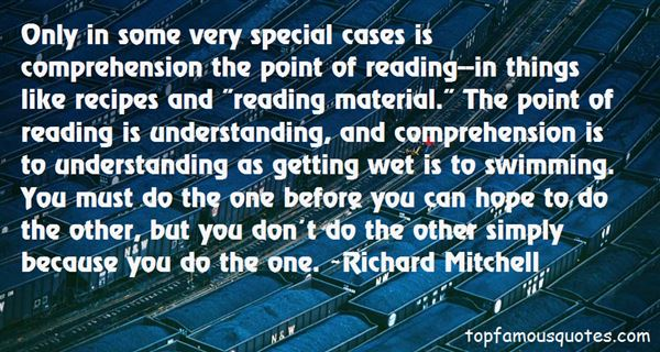 Quotes About Comprehension