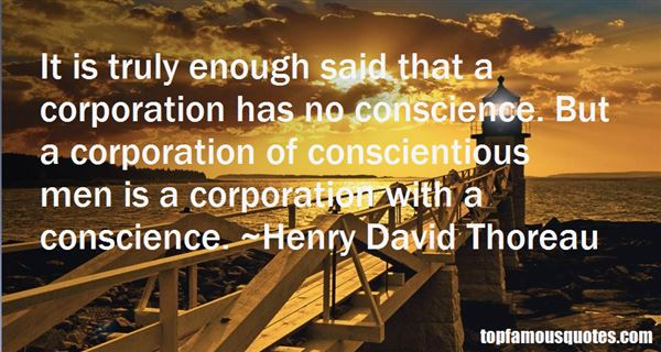 Quotes About Conscientious