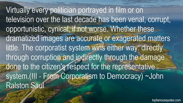 Quotes About Corporatist