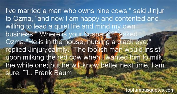 Quotes About Cows And Milk