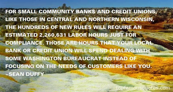 Quotes About Credit Unions