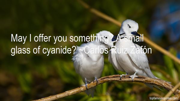 Quotes About Cyanide