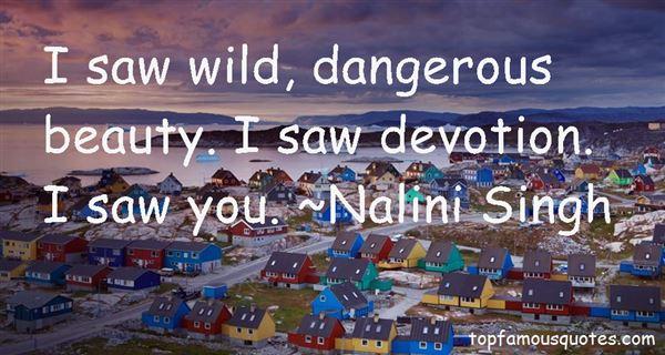 Quotes About Dangerous Beauty