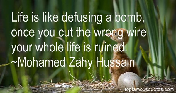Quotes About Defusing