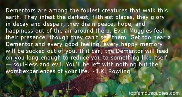 Quotes About Dementors
