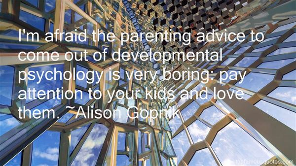 Quotes About Developmental Psychology